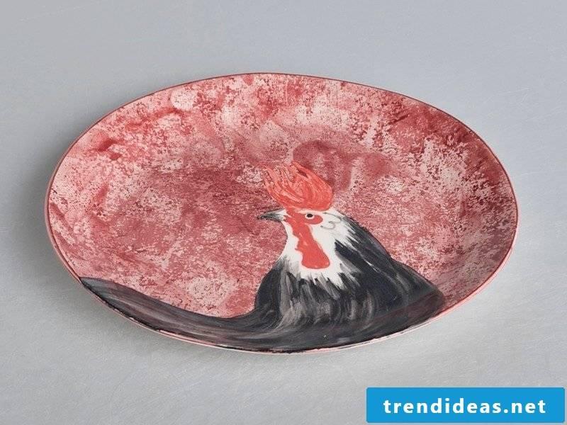 Paint ceramic