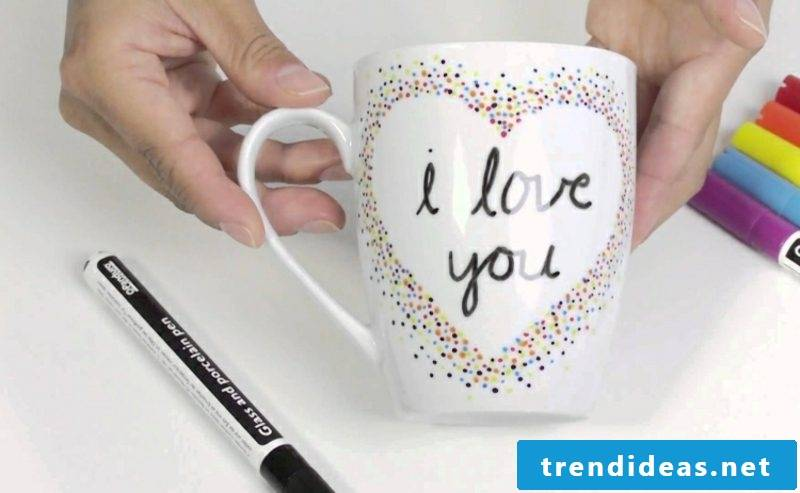 Make cups yourself DIY ideas and inspirations