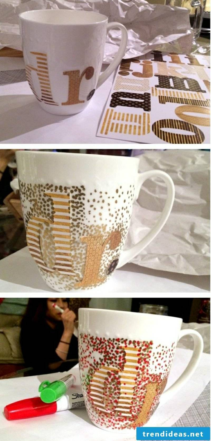 Make your own cup gorgeous gift idea