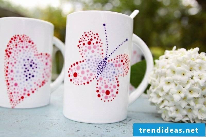 Mugs Paint 20 Inspirational DIY Ideas