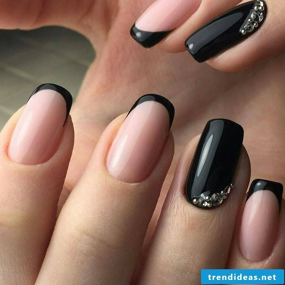 Noble nail design for neat-looking nails