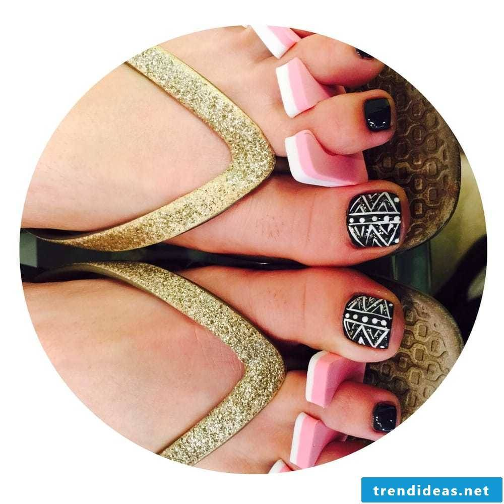 Toenails - ideas for nail polish