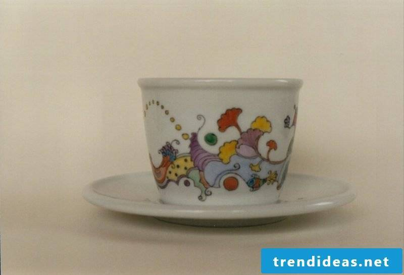 painted coffee cup