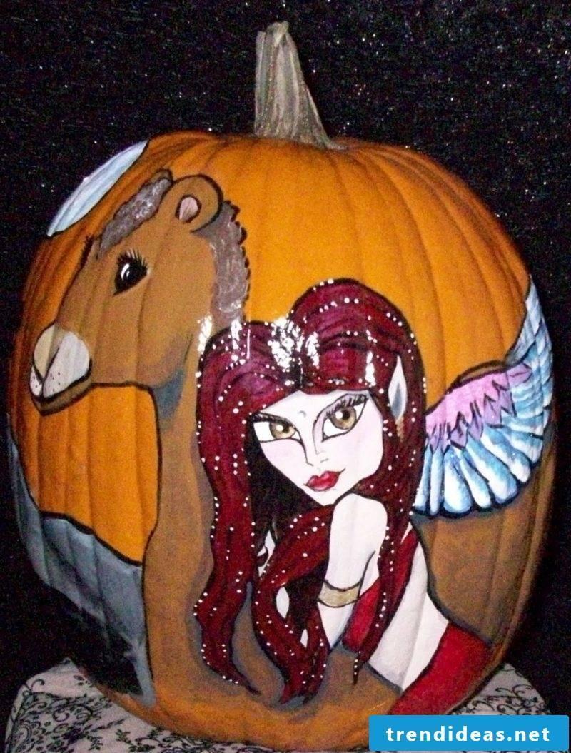 Pumpkin genie