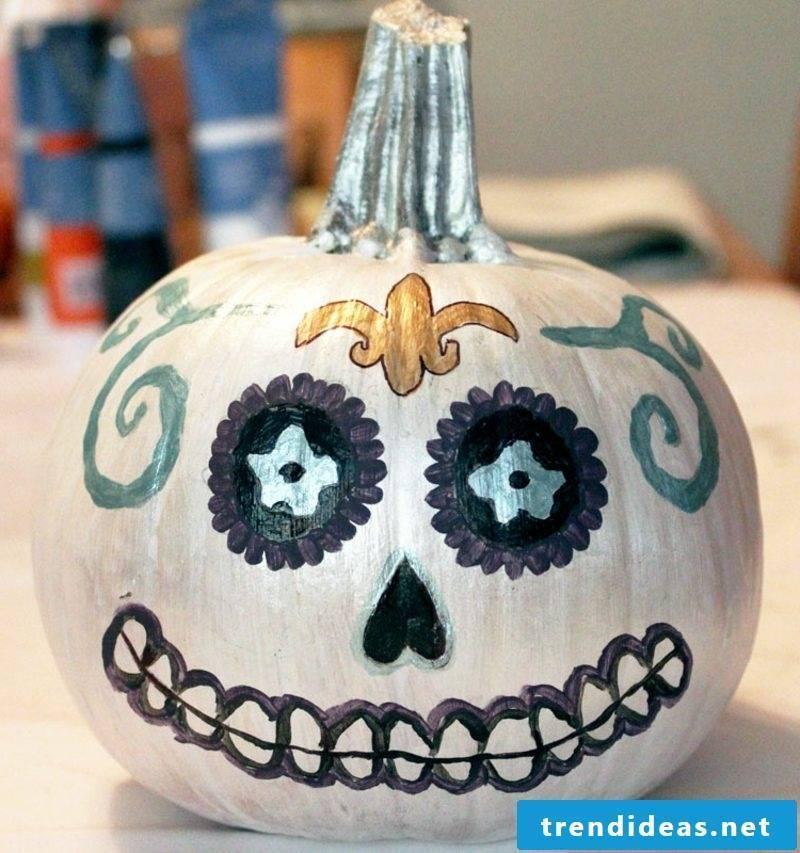 Paint Pumpkin Painting