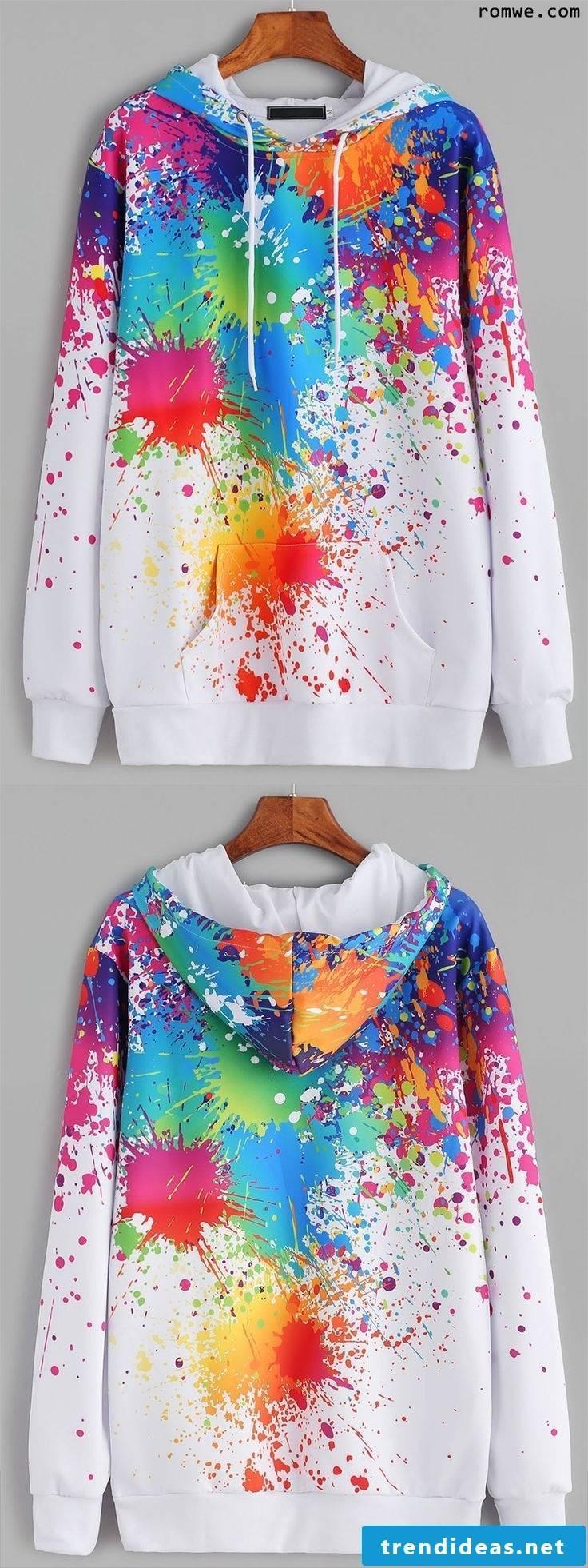 T shirt color with textile color