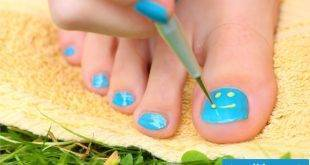 Paint toenails - 30 cool ideas for the summer