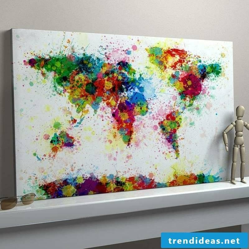 original image world map canvas