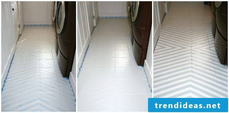 Tile the bathroom to give it a fresh look