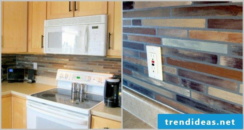 Kitchen tiles paint great patterns