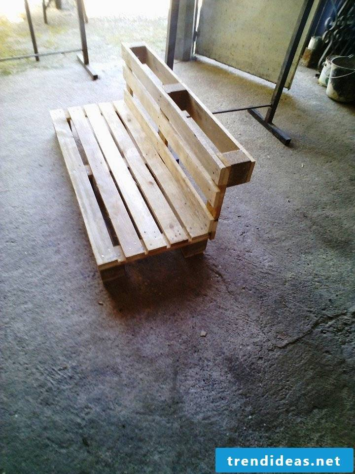 pallet furniture bank of pallets build your own step 6