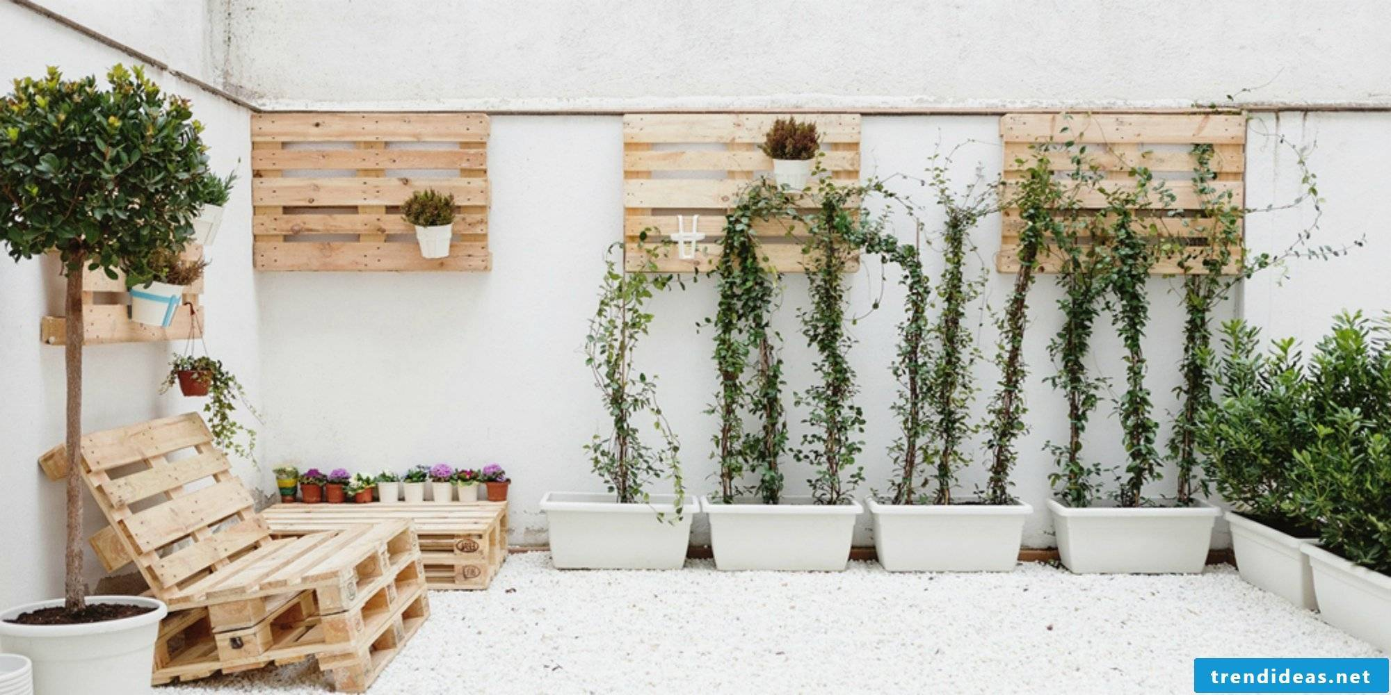 garden furniture made of pallets build pallet furniture