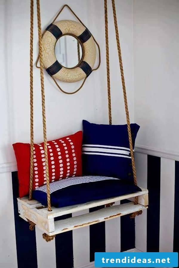 swing from palette pallet furniture