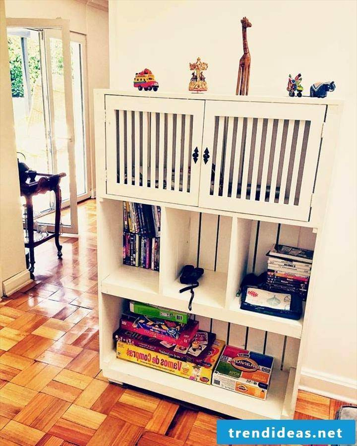pallet furniture build your own shelf from pallets
