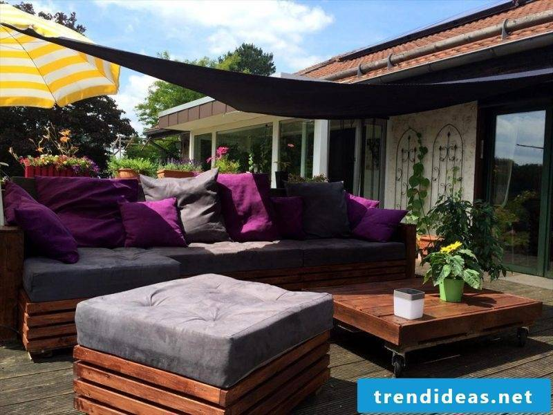 pallets furniture brown garden furniture from pallets build yourself