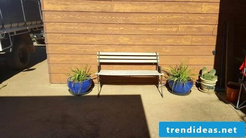 pallet furniture bench made of pallet craft ideas