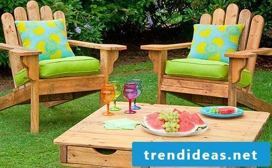garden furniture made of pallets you can build your own crafting table out of pallets