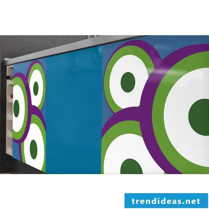 kitchen fronts stick colorfully