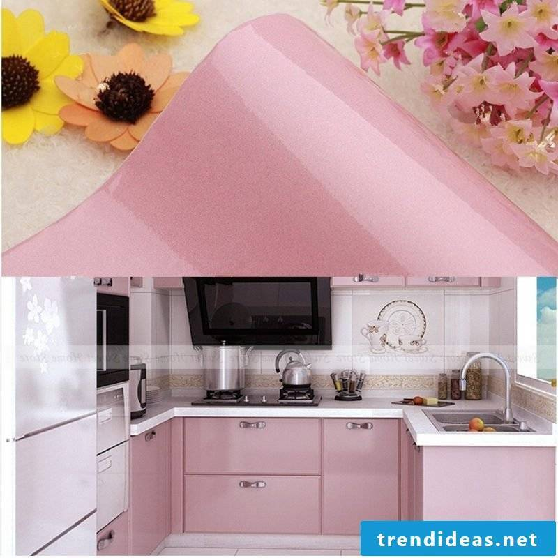 kitchens frieze pink