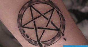 Pentagram Tattoo: Meaning and 33 cool examples