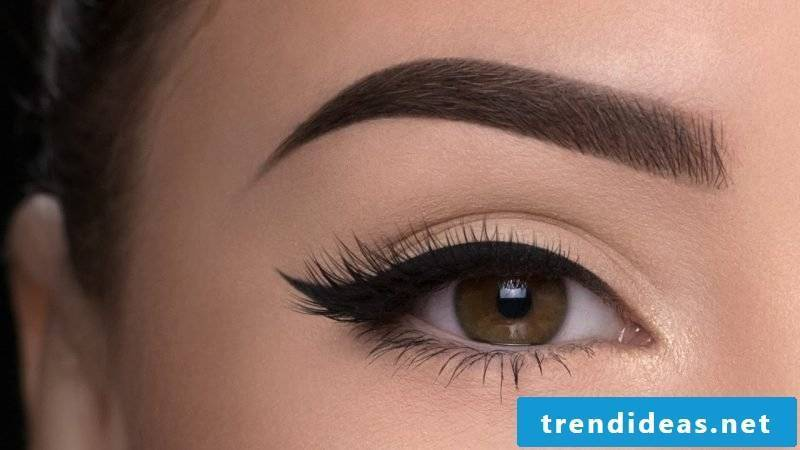 Perfect Eyebrow Shapes - Plucking Instructions and Make Up Instructions