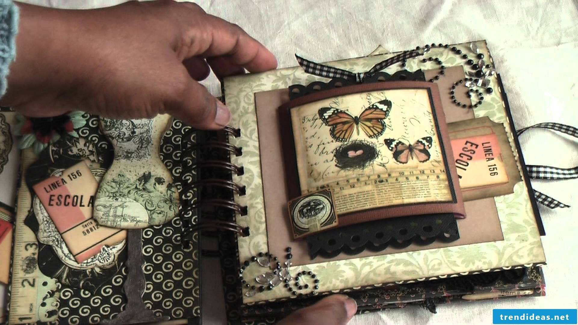 Creative design of photo album