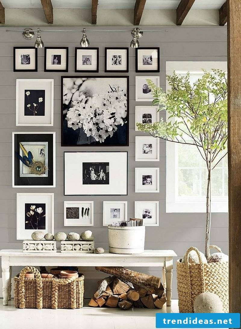 make picture frame collage yourself