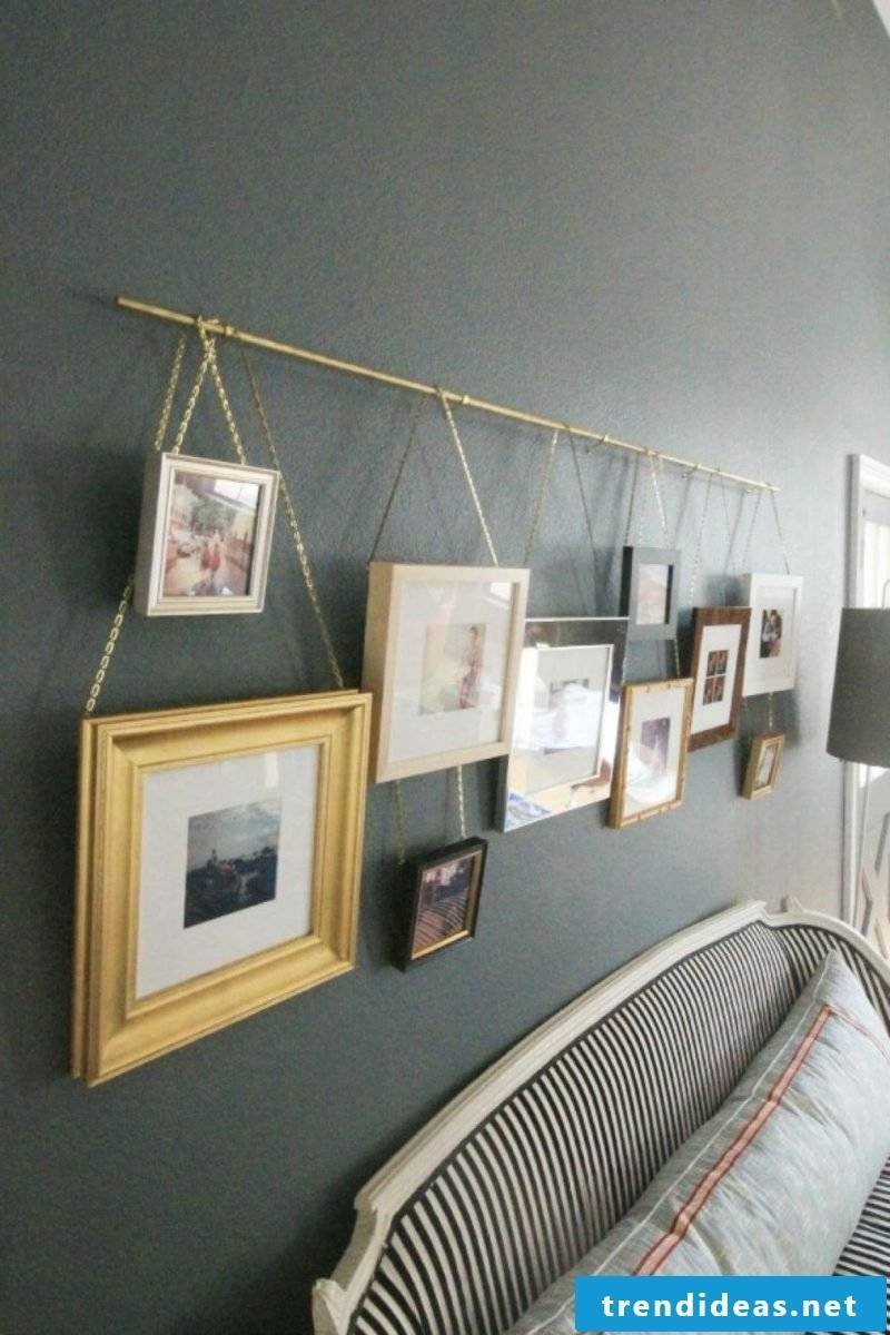Create a photo wall yourself