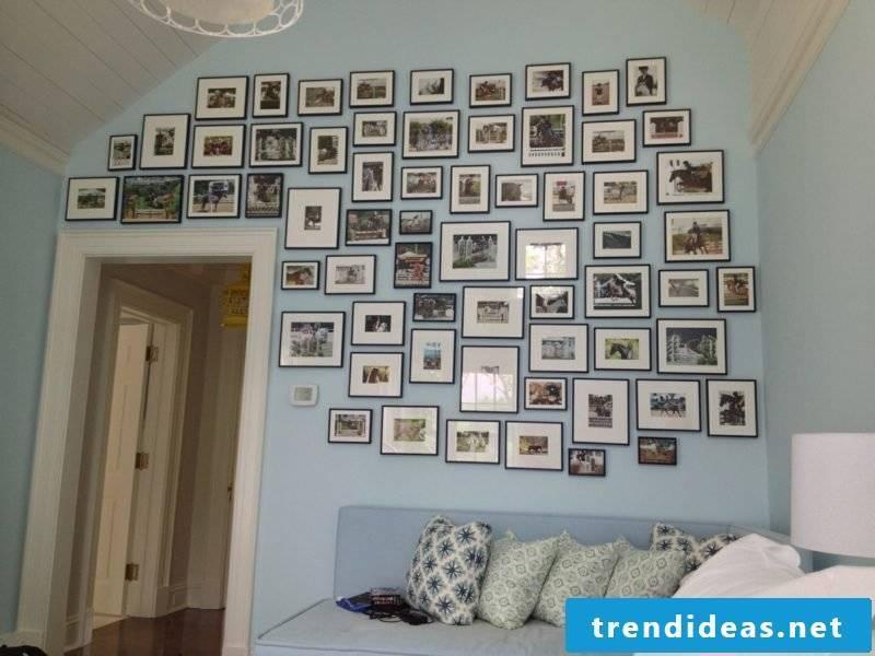 wall decoration living room photo wall ideas