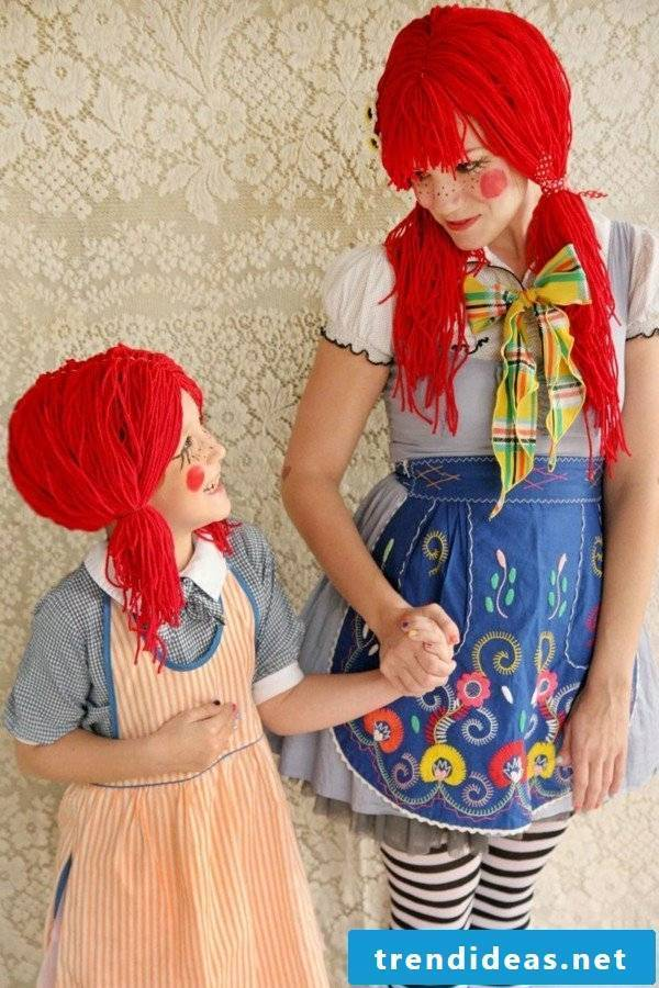 The Pippi Longstocking braids are so easy: make up instructions