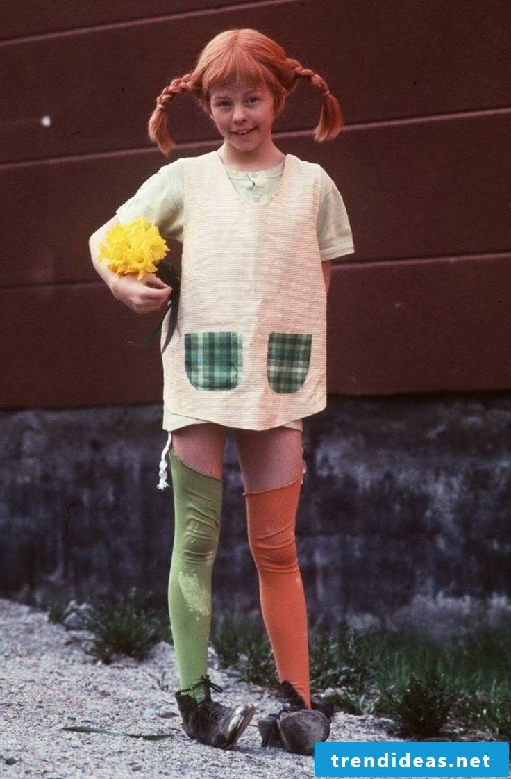 How to do Pippi Longstocking Kids Costume yourself!