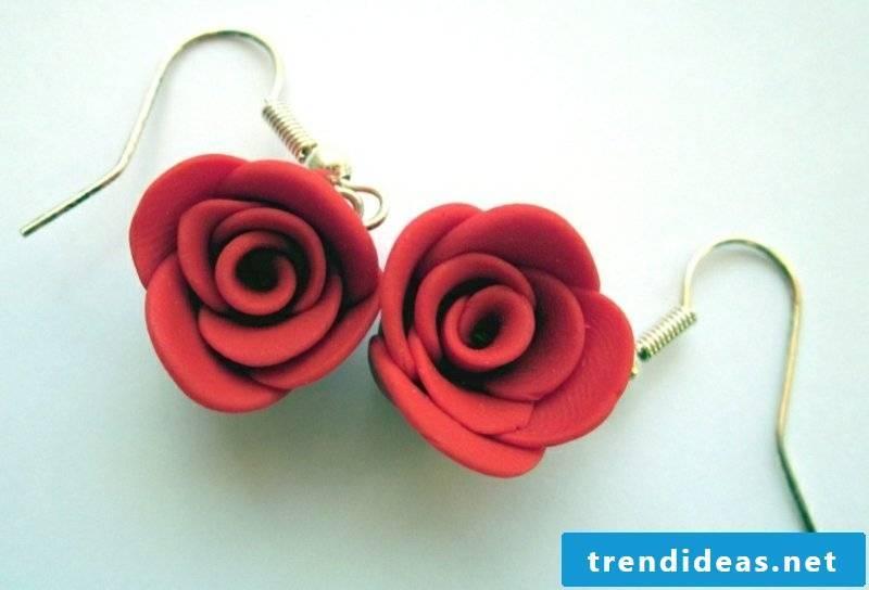 Fimo jewelry earrings