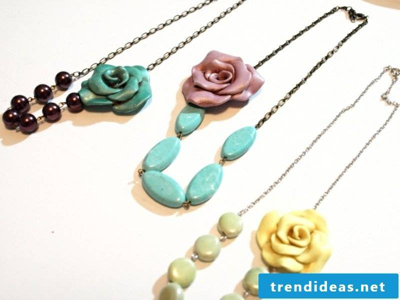 Fimo chains