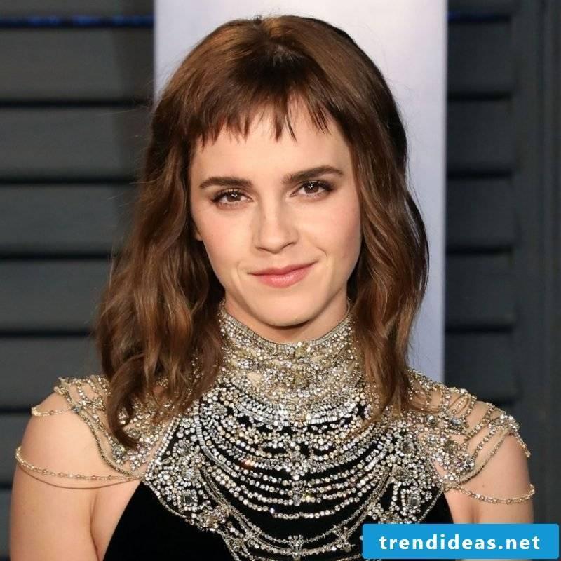 Pony cut short Emma Watson