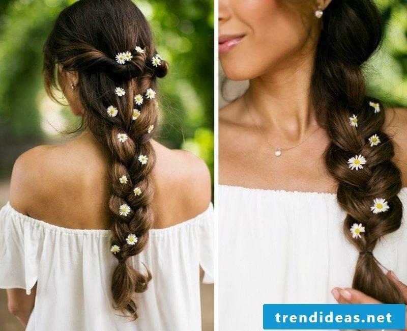 Hairstyles long hair braid summer look