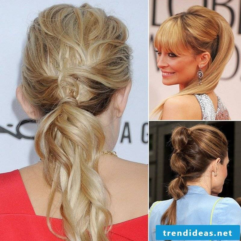 long hair style original hairstyles with ponytail