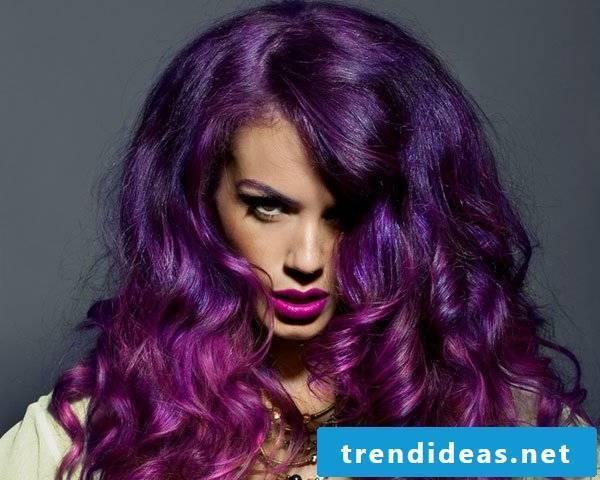 dark purple hair purple hair purple hair color