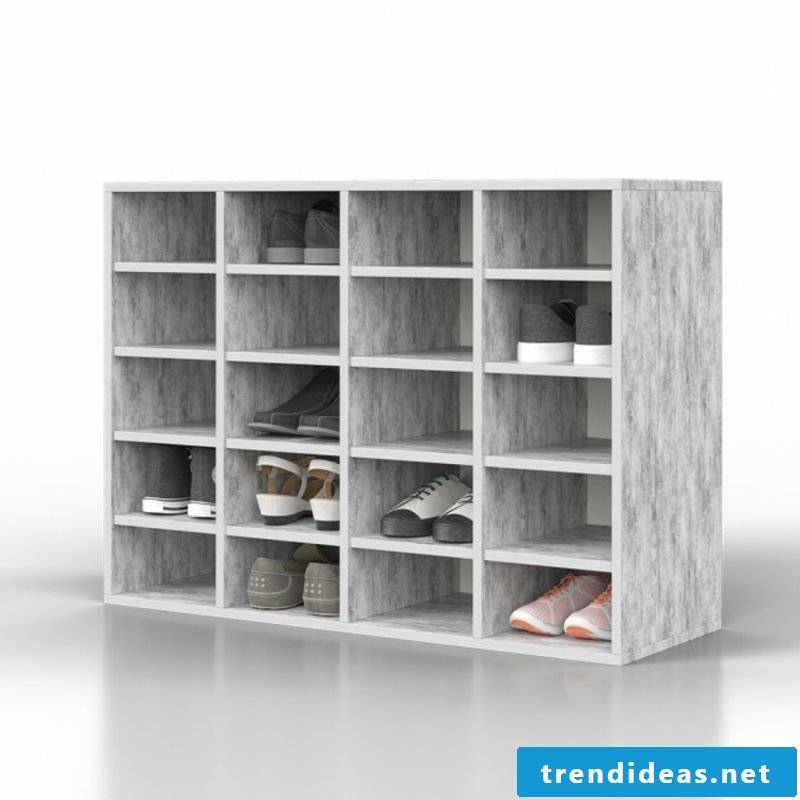 large shoe cabinet modern practical