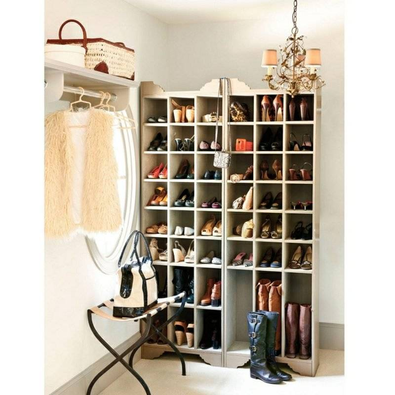 Shoe cabinet yourself build DIY ideas