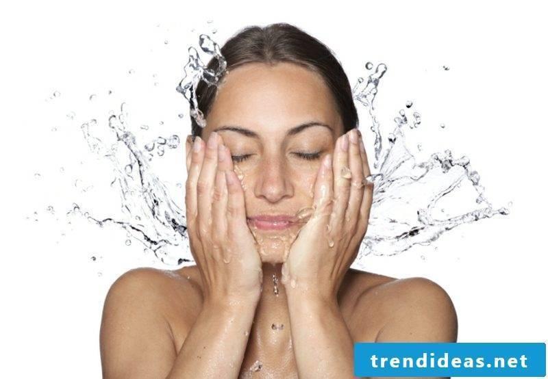 Quark mask for wrinkles cleanse the skin