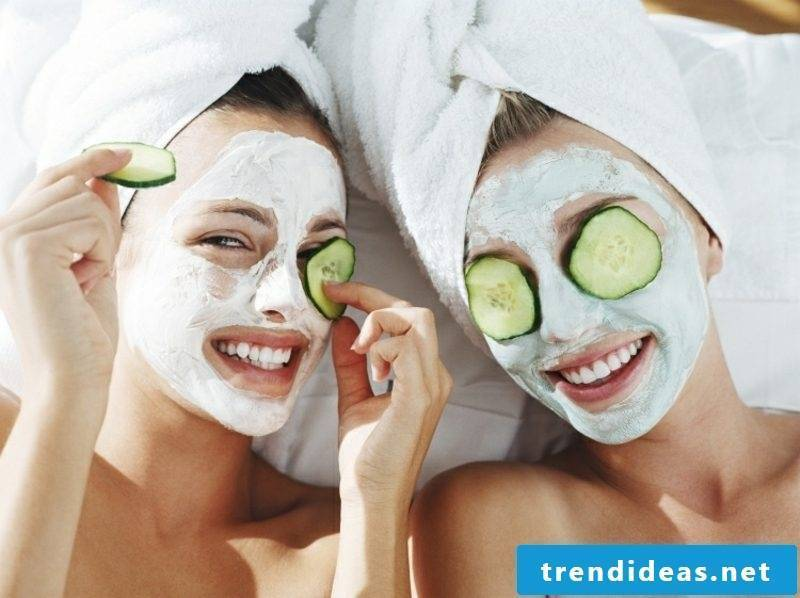 Quark mask against wrinkles make yourself