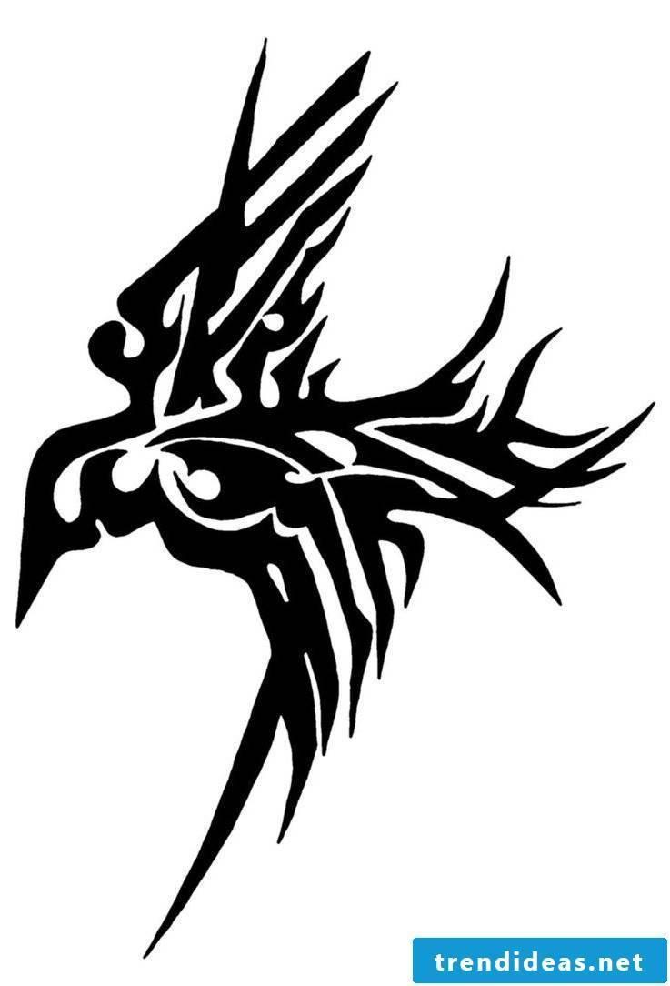 Ravens tattoo trible