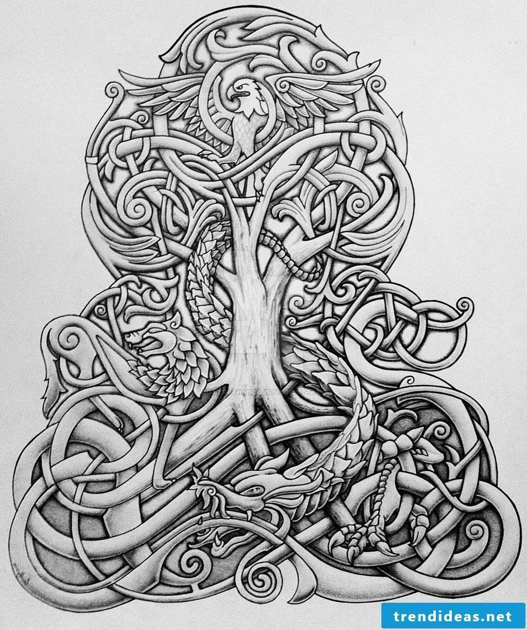 Viking tattoo, Thorshammer Ttrible
