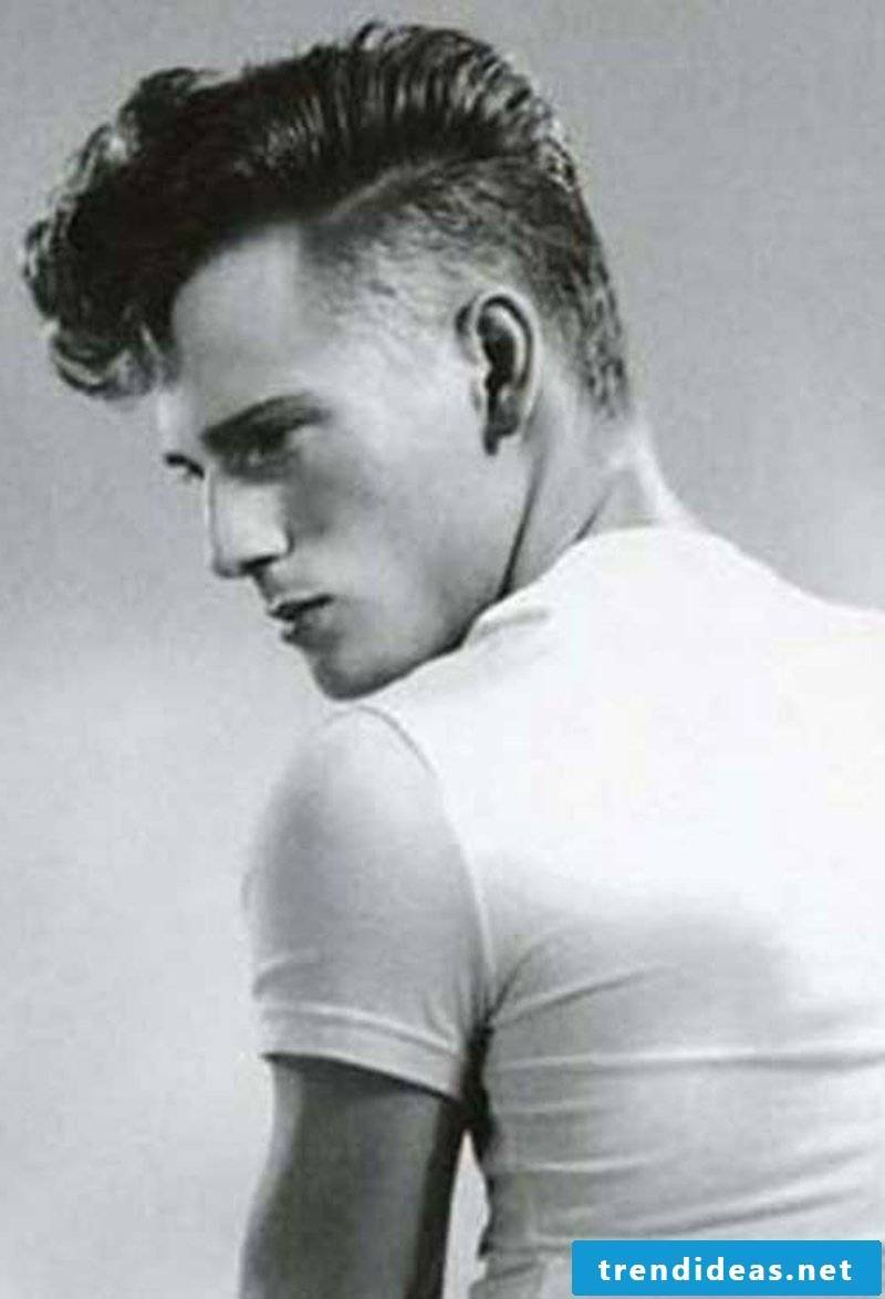 Rockabilly Hairstyles Men Rockabilly Hairstyle with Long Top