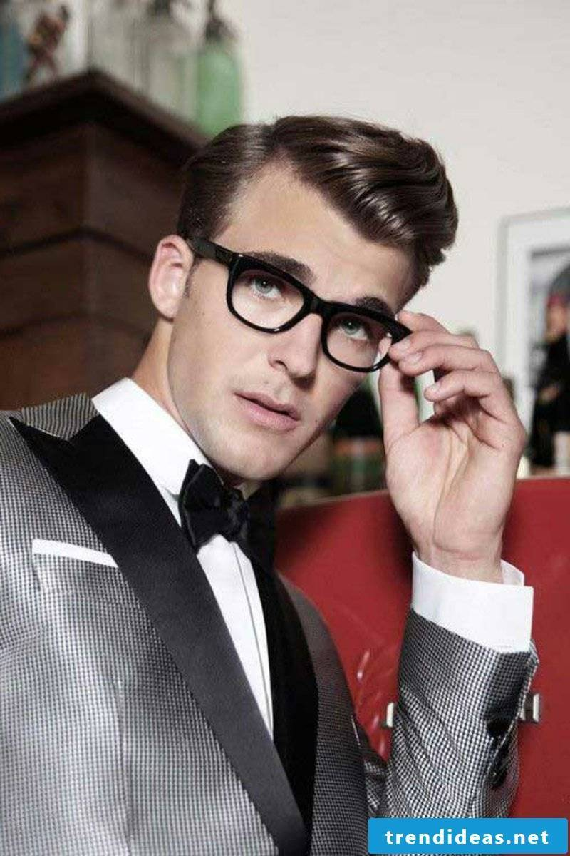 rockabilly-haircut-men-side Swept Straight Combined Over Rockabilly Hair