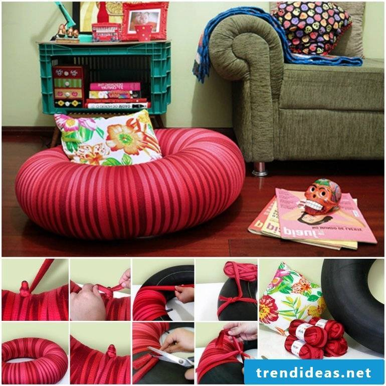 Recycling furniture yourself!