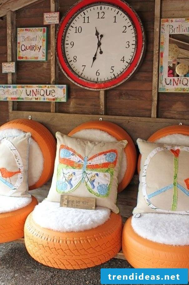 Beautiful DIY recycled furniture