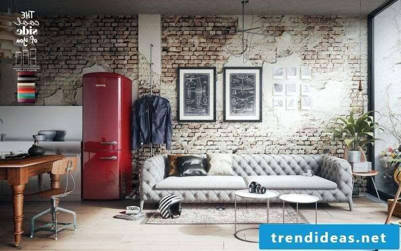 retro refrigerator bosch creative