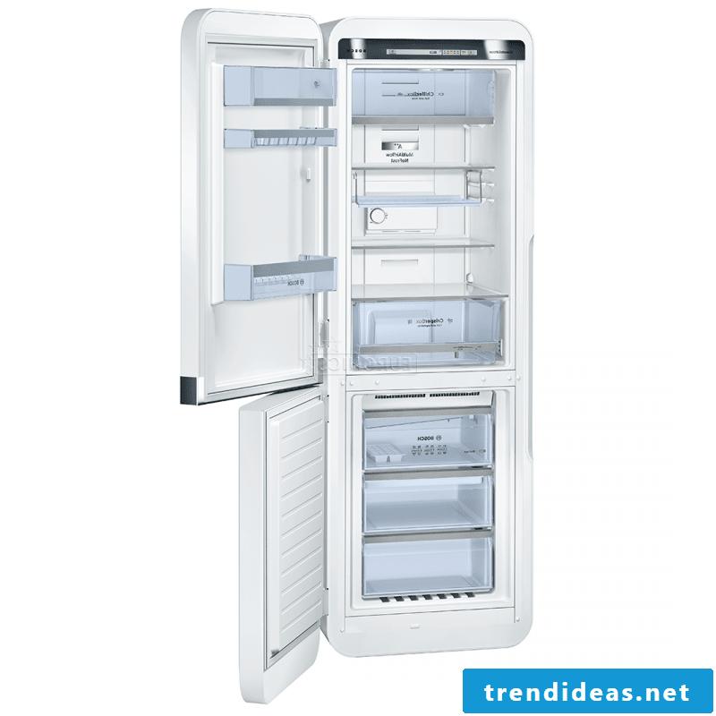 retro refrigerator bosch renovated