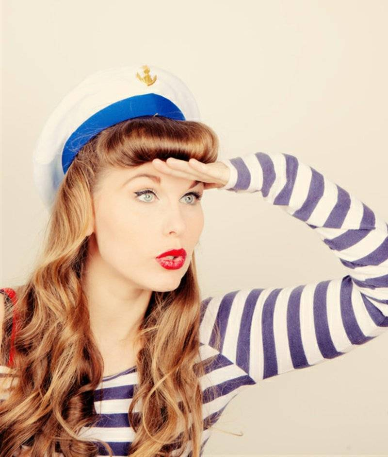 rockabilly hairstyles ANCHORS AWEIGH